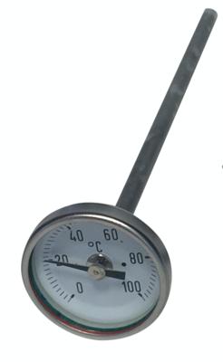 Bimetall-Zeigerthermometer 150mm ✓ zu Galvanisiergerät PGG 10