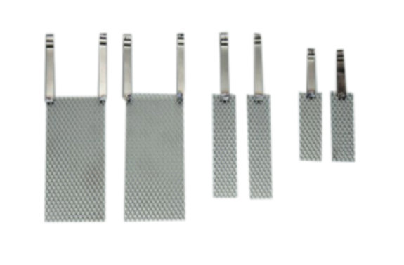 Platinierte Titananode 160 x 30 x 1 mm ✓ zu PGG 10 1.5l ✓