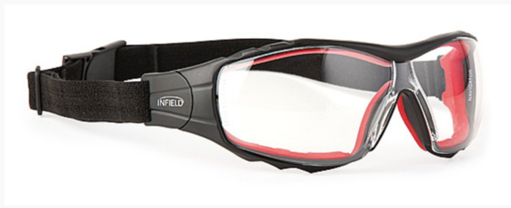 Safety glasses black / red ✓ when handling chemicals ✓ buy online✓